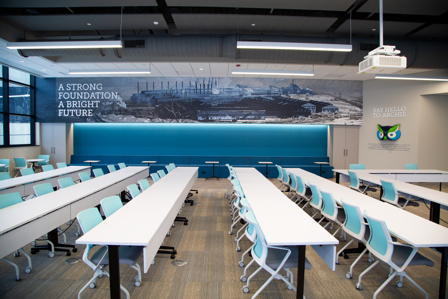 PA Cyber Midland Administrative Campus Branding Furniture Continental Office