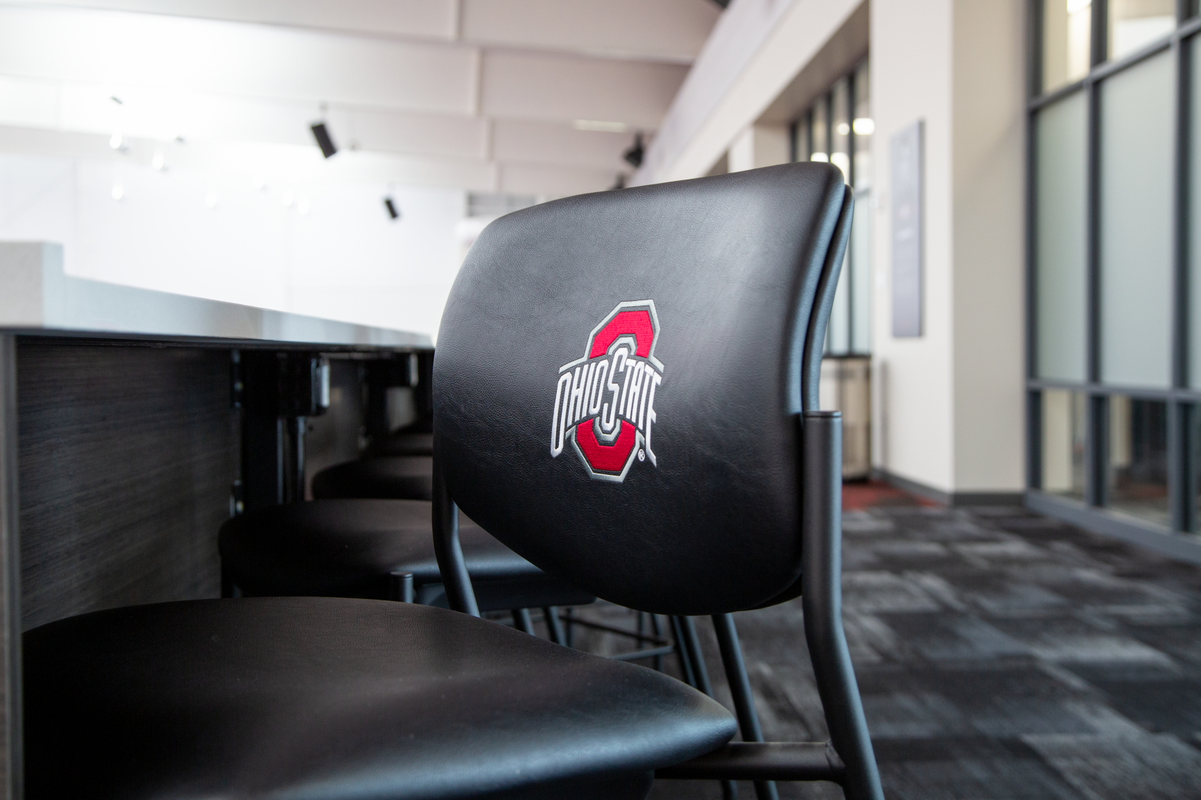 Ty Tucker Tennis Center at The Ohio State University features custom branding solutions and furniture by Continental Office