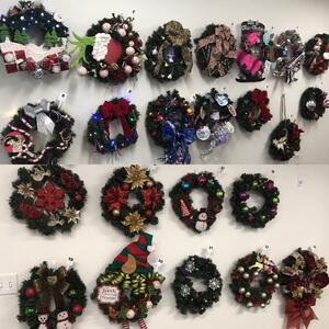 Wreath designs for Ronald McDonald House