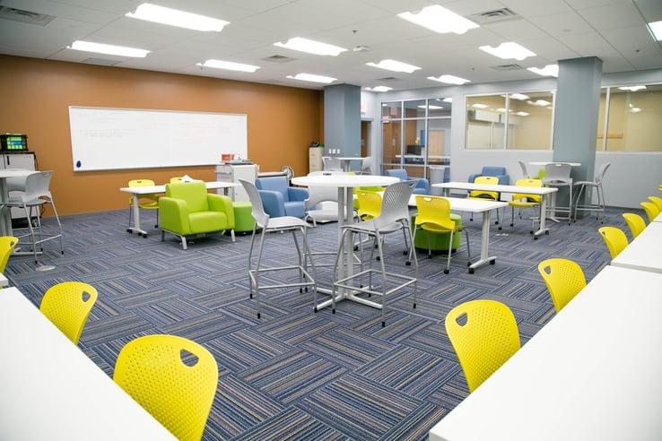 Gahanna Lincoln High School - Clark Hall is a 21st century learning environment