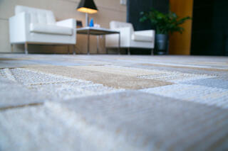 If you read my last blog post, you already know that I love carpet tile.