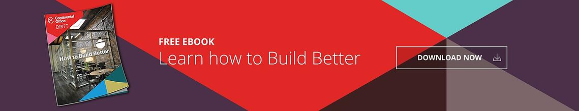 Download our free eBook to learn how to Build Better!