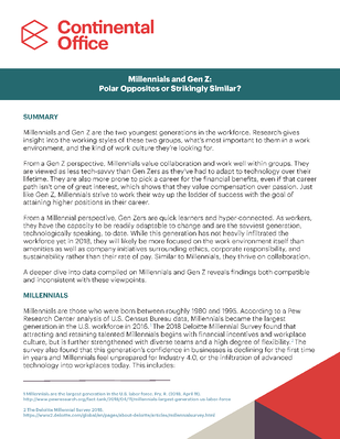Millennials & Gen Z White Paper