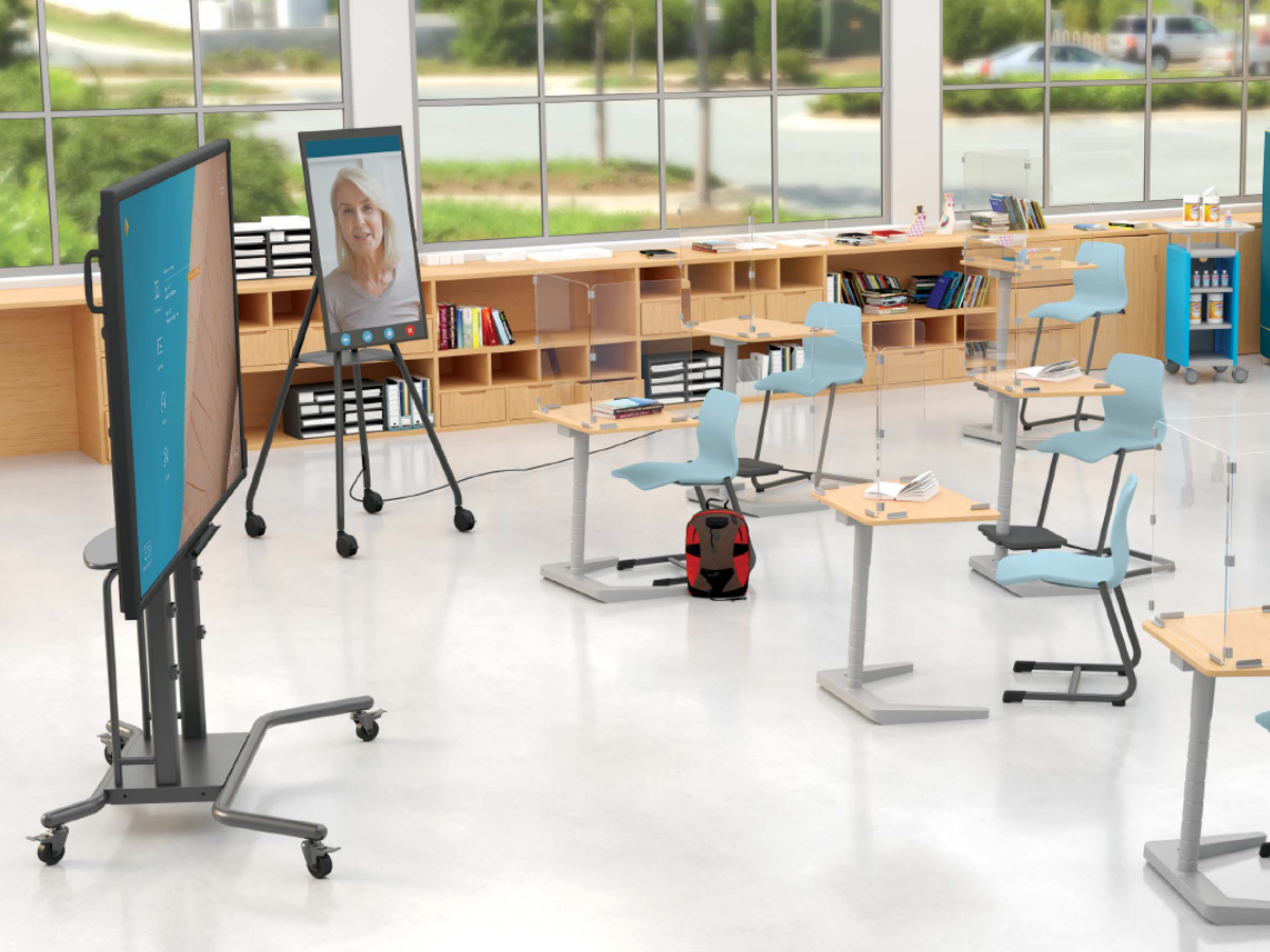 MooreCo digital classroom technology solutions i3Touch and i3Sixty digital flipchart for the classroom continental office
