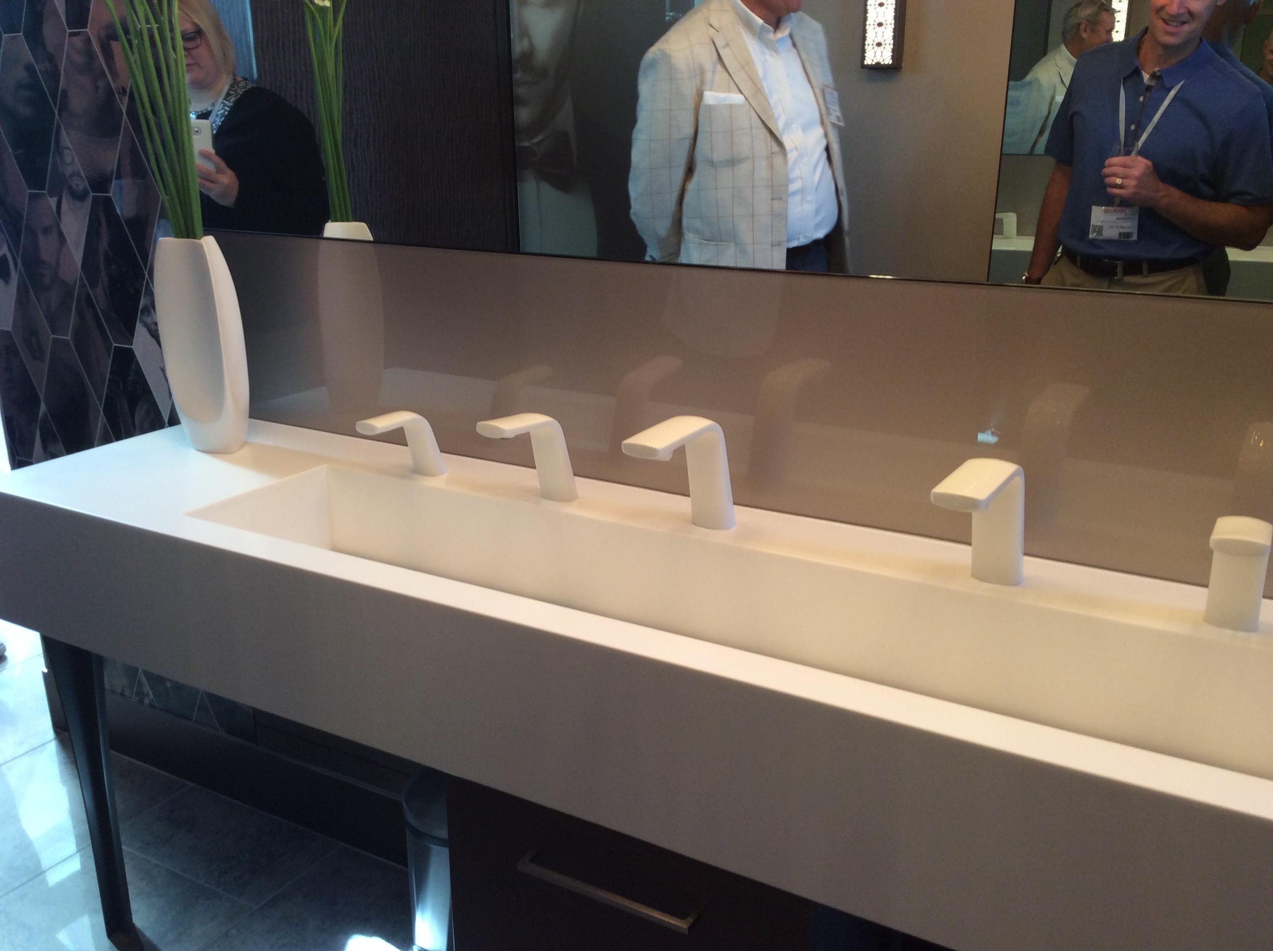 A DIRTT designed bathroom