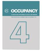 Occupancy Safety Signage - Continental Office