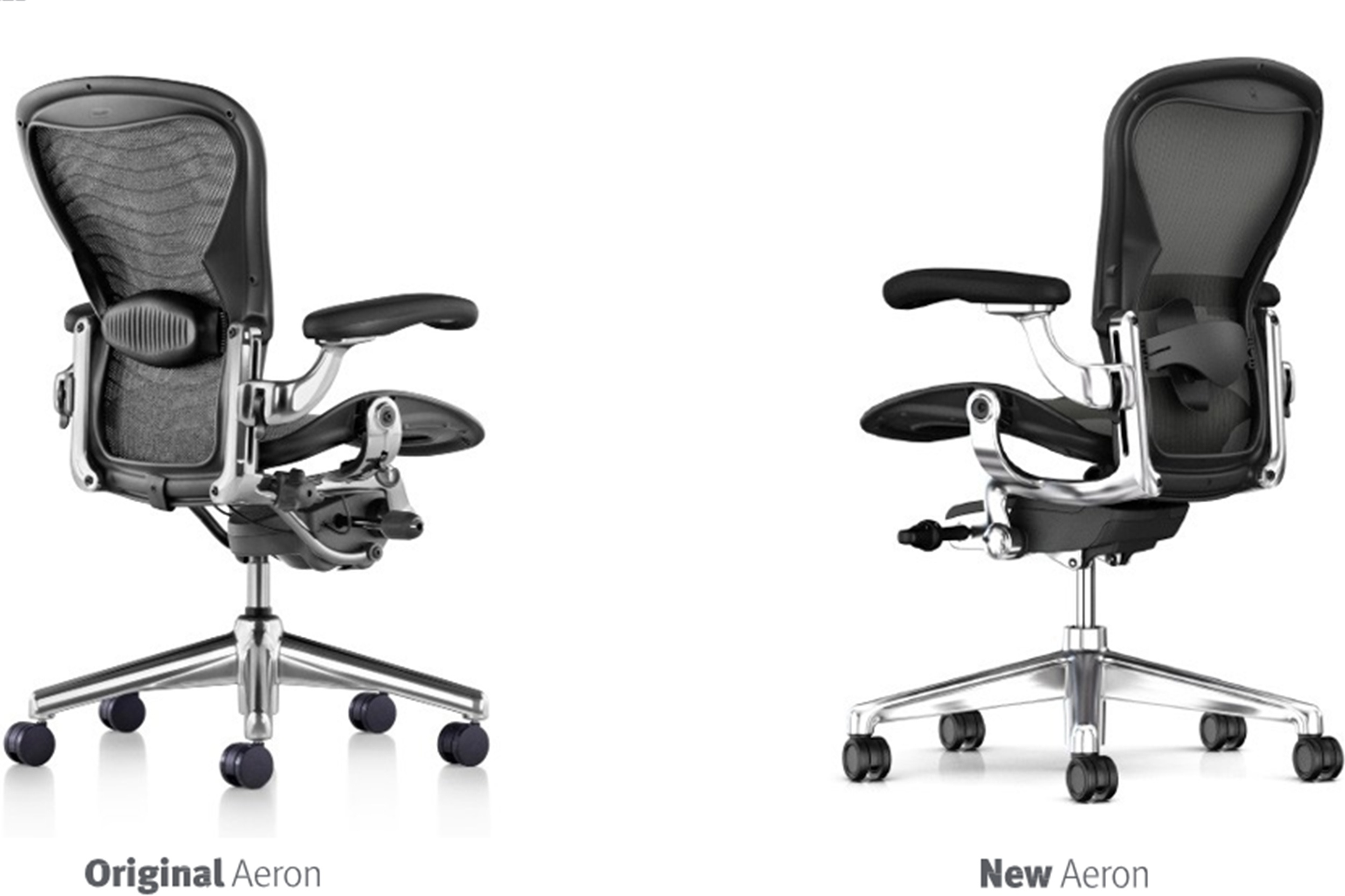 herman iconic aeron hm wired just its chair redesigned miller